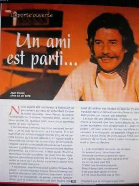 Article de presse (Mars 2010)