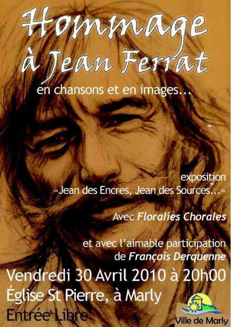 """2010) Exposition """" Jean des Encres Jean des Sources """" le 30 Avril 2010 à Gérardmer (88400)"""