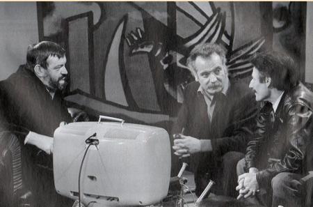 """1969) Jean FERRAT on lui interdit de chanter  """" Ma France """" à la télé"""