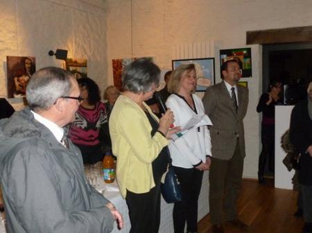 2013) Exposition de peintures sur les chansons de FERRAT à Boussy-Saint-Antoine (91800) le 7 Décembre 2013