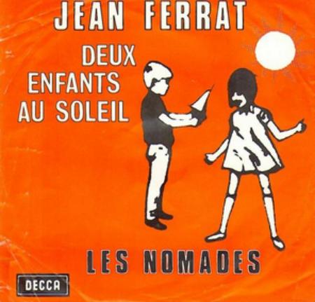 1963) Jean FERRAT - Deux enfants au soleil (Version vendu en Belgique)