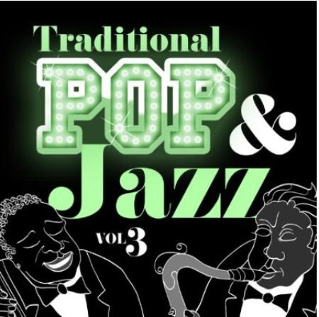 2013) Pochette version Karaoké (dans le style de jeanFERRAT)  - Traditional Pop & Jazz Vol.3  ( le 3 Décembre 2013)