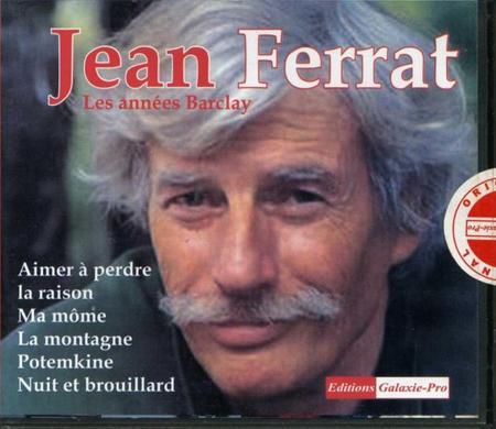 1992) Jean FERRAT - Les années Barclay (Version vendu en Algérie) Le Recto