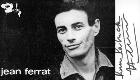 Autographe de Jean FERRAT