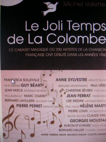 1958)  Cabaret '' La Colombe '' où Jean FERRAT fit ses débuts