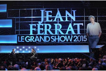 """2015) Jean FERRAT """" Le Grand Show 2015 """" sur FRANCE2 le 14 Mars 2015"""