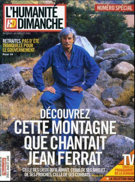 2010)  HUMANITE DIMANCHE N° SPECIAL (20431) DU 22 JUILLET 2010