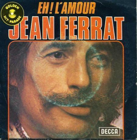 1961)  Jean FERRAT - Eh ! l'amour (version vendu en Belgique)
