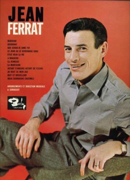1965) Jean FERRAT - 12 Titres Barclay sur 33T ( version vendu au Canada )