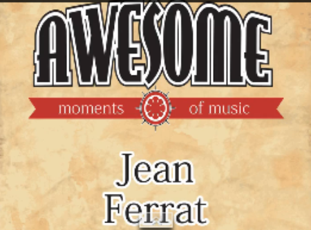 2015) Jean FERRAT - Les Nomades album  chez Awesome Moments of Music