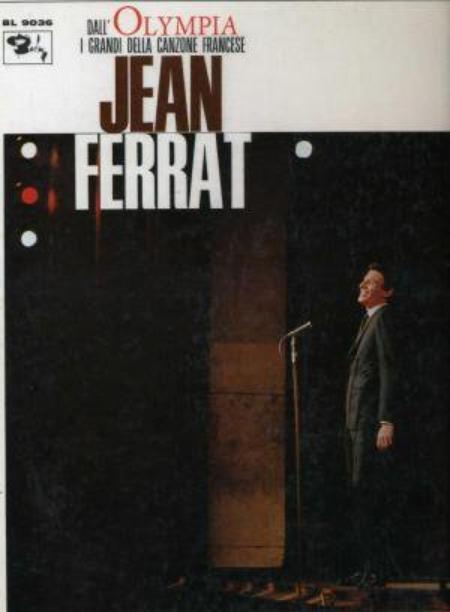 1965) Jean FERRAT 12 Titres - Version vendu en Allemagne