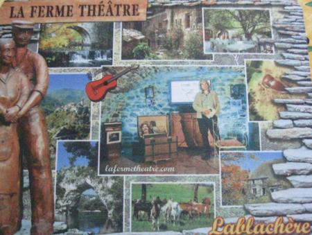 """2015) Spectacle  """" Jean d'ici FERRAT le cri """" à Lablachère 07230 le 6 juin 2015 -  ici en compagnie de Jean Marc MOUTET"""