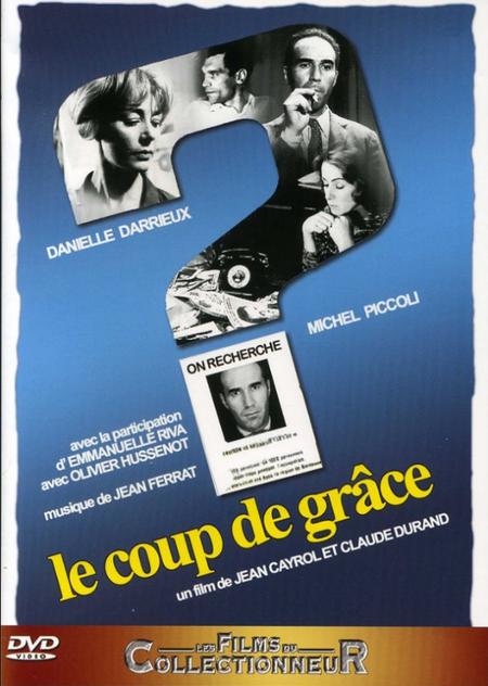 """1962)  Film """" Le coup de grâce """" de Jean CAYROL et Claude DURAND et musique de Jean FERRAT en DVD"""