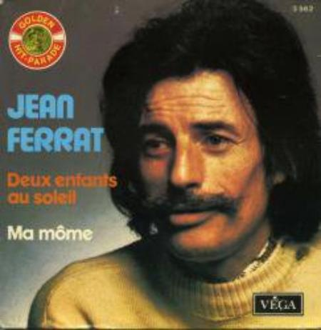 1972) Jean FERRAT - Deux enfants au soleil (Reprise disque DECCA de 1961)