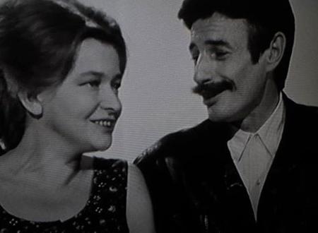 1968) Jean FERRAT et Christine Sèvres