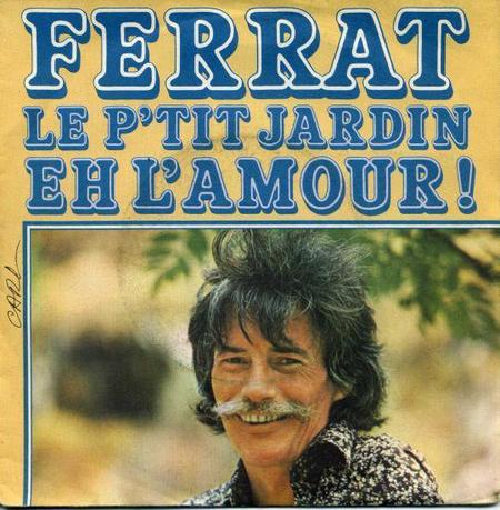 1976)  FERRAT - Le  petit jardin