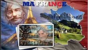 1969)  Jean FERRAT - Ma France