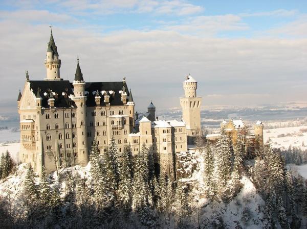 Le chateau de Neuschwanstein