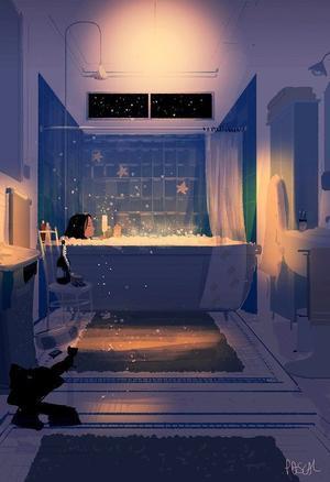 Un bain ?
