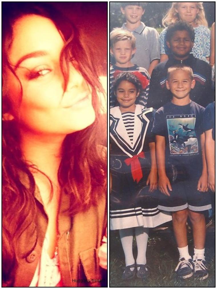 PHOTOS PERSONELLES : Nouvelle photo twitter de Vanessa ainsi que une photo de classe de celle-ci