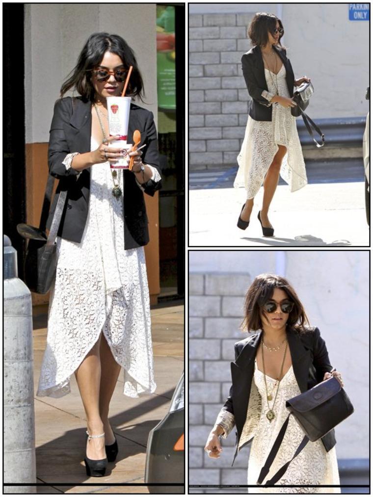CANDID Vanessa se promenant dans Studio City, le 05/05/2011