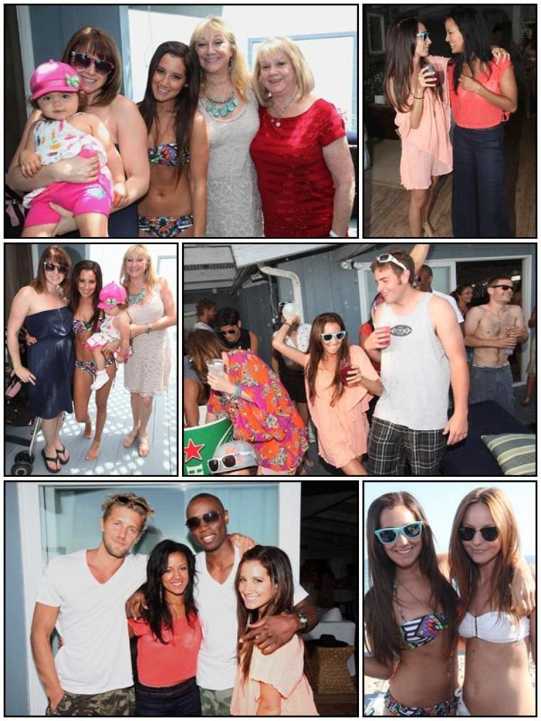 ♦ RUBRIQUE : EVENTS ♥ 02/07/2011 D'autre photos de Ahsley durant sa fête d'anniversaire :)