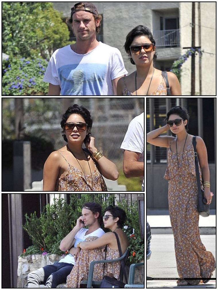 CANDID Vanessa a été vu dans Studio City avc un ami à elle, le 21/08/2011