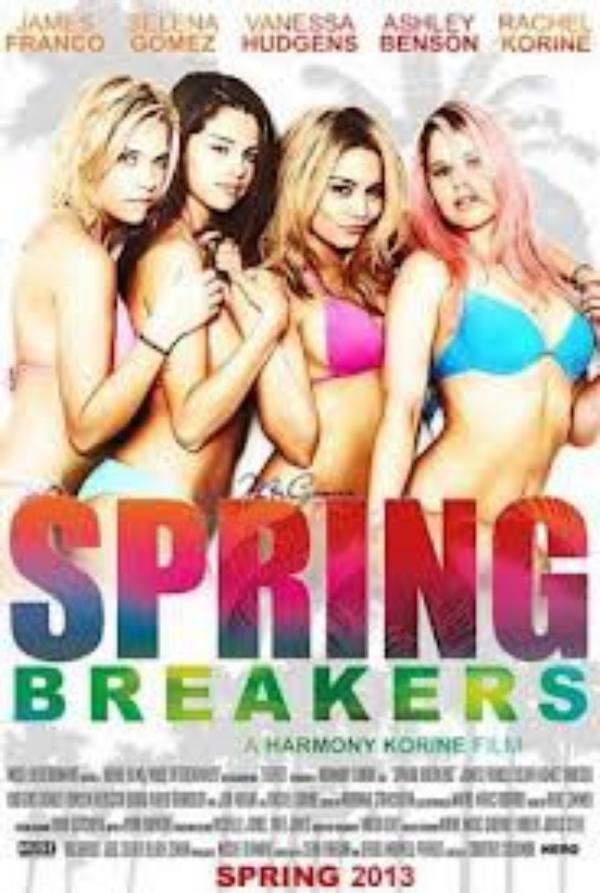 Selena Gomez : l'affiche sexy et truquée de Spring Breakers