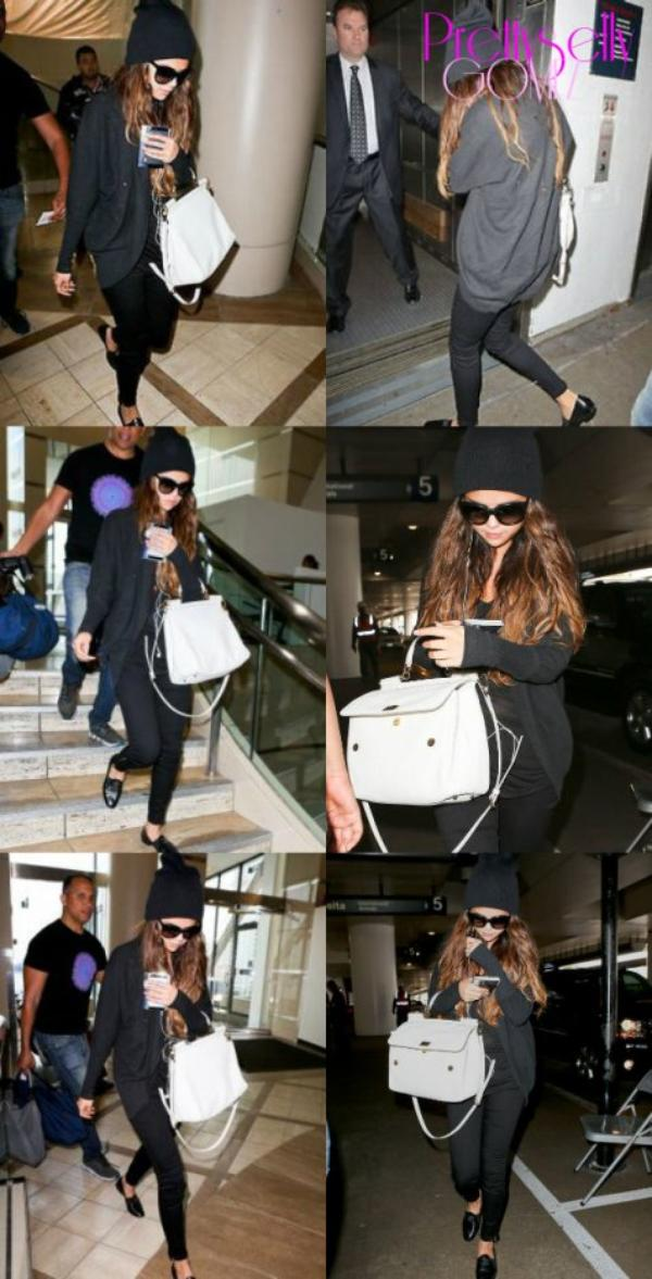autres photos de Selena à l'aéroport de L.A