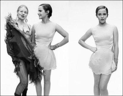 ● Quelques nouvelles photos sont apparues d'un shoot de Mariano Vivanco, des photos avec V.Westwood et La première affiche publicitaire de Lancôme pour Rouge in Love.