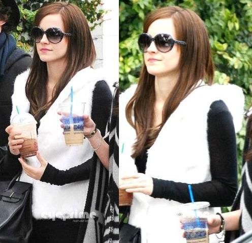 """. ● 11/04/12 Emma a encore une fois été vue sur le plateau de""""the Bling Ring"""" en plein tounage. Que pensez-vous de sa tenue ? Top ou Flop ?  ."""