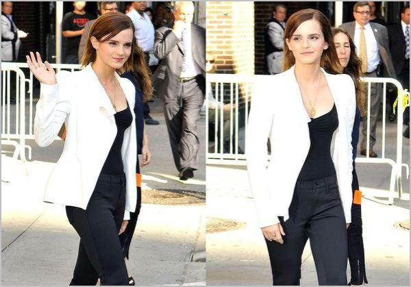 ". 05/09/12 ➜ Emma était au David Letterman Show à New-York où on découvre un nouvel extrait de ""The Perks of being a Wallflower"".."