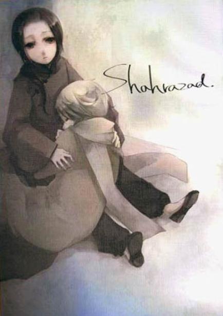 """""""Shahrazad""""  Shonen-aï"""