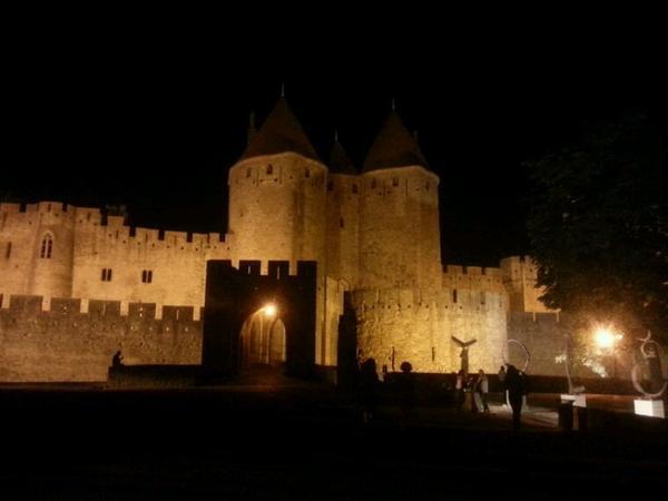 Entree de la citée de Carcassonne