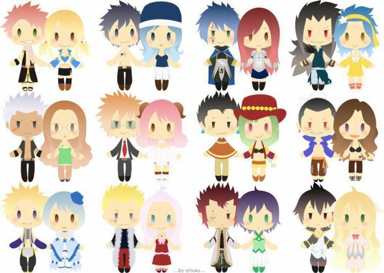 ✰ Plusieurs mini couples