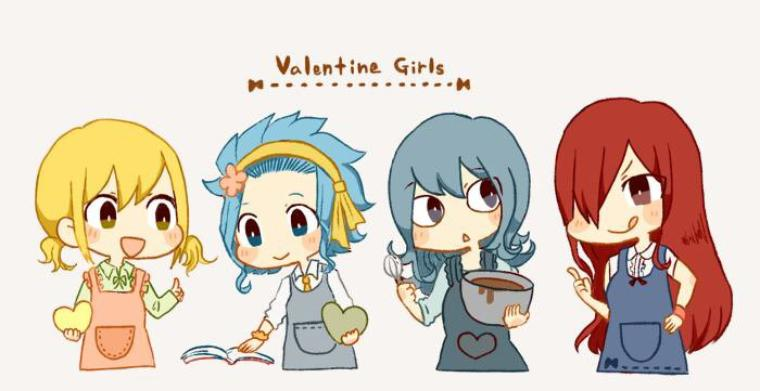 Valentine Girls.