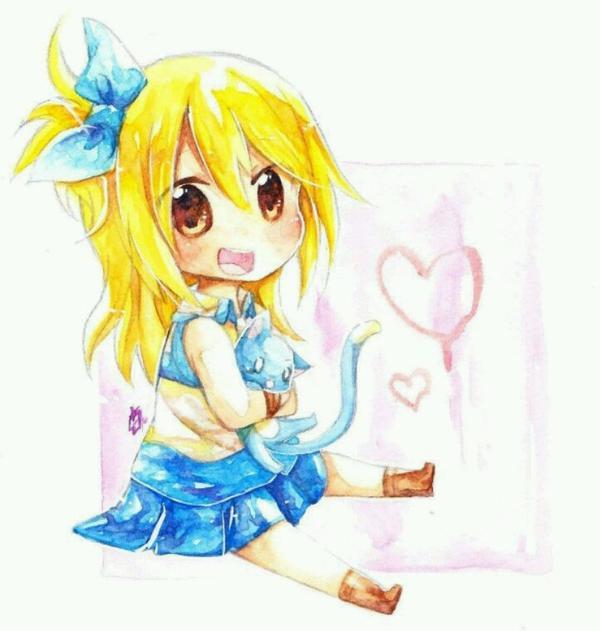 Natsu Lucy kawai!
