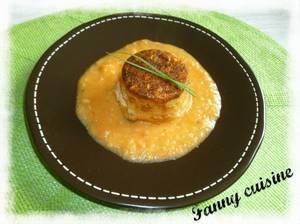 Mousse de jambon et sa concassée de tomates au thermomix