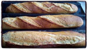 Baguettes à préparer la pâte la veille