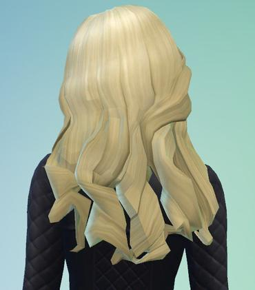 Coiffure Sims 4
