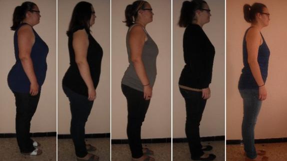 Evolution de 120kg à 70kg
