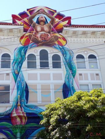 Balade dans le quartier de la Mission à SF