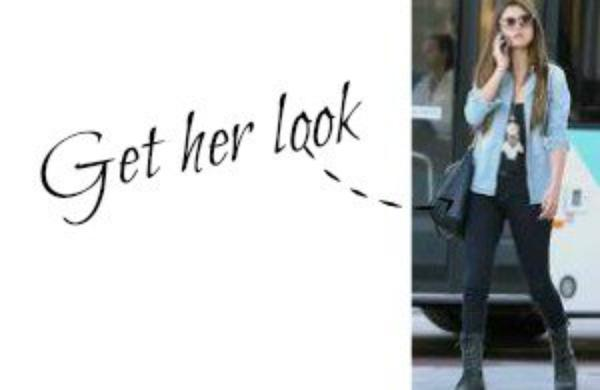 Get the look of selena gomez
