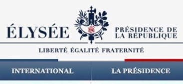Au president de la République M. François Hollande