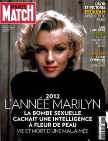 Marilyn dans Paris Match