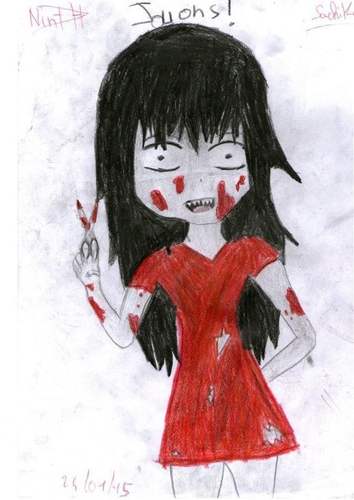 dessins de Sachiko Shinozaki de Corpse party