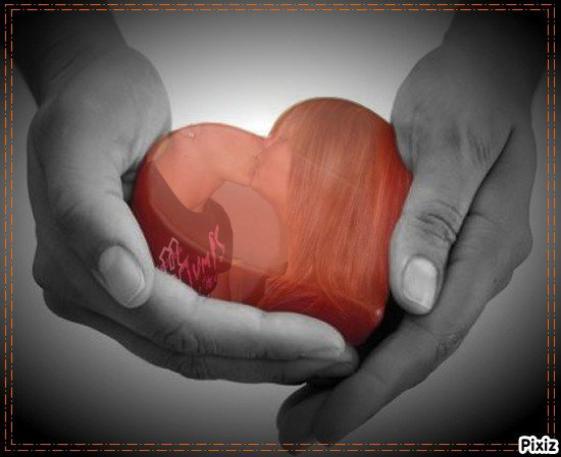 mo0n coeur et entre tes maiin