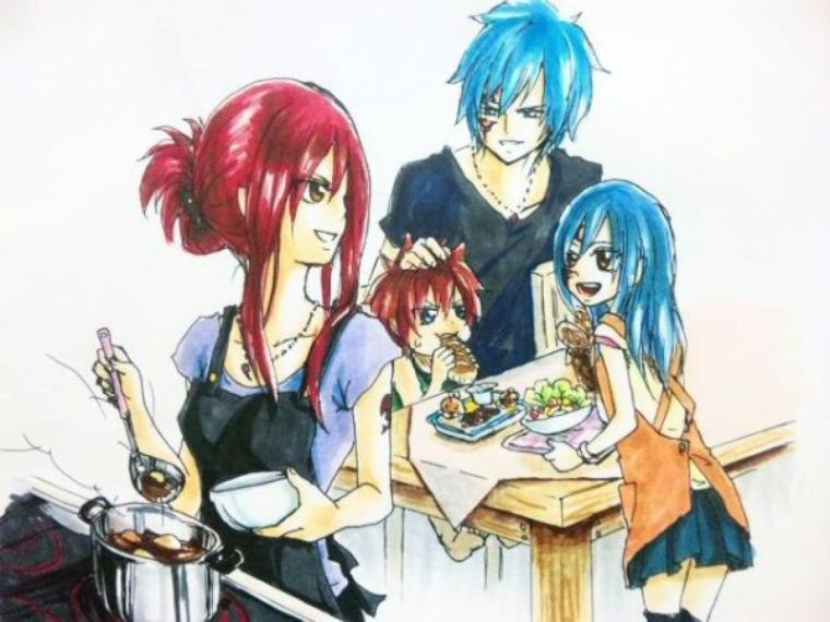 Jellal x Erza one-shot