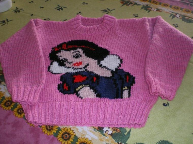 pull blanche neige