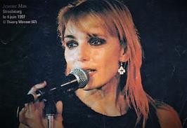 """Il y a 20 ans jour pour  -  JEANNE présentait au ROCK N' ROLL CAFE (93) son album avec """"Les Egoïstes """""""